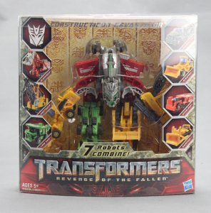 Transformers 2 Movie ROTF Construction Devastator Legend CLASS Figure