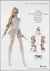 CC222 1/6 DOLLSFIGURE Sexy Camisole Set HOT TOYS,CY COOL GIRL,TTL,Phicen