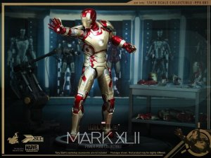 HOT TOYS PPS001 Iron Man 3 Power Pose Mark XLII MK 7 1/6 Figure