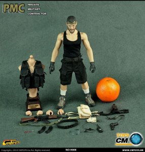 CMTOYS H008 PMC Beard 1/6 Figure(Muscular body Full rubber skin layer)