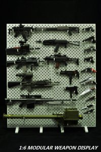 CAAZAA TOYS 1:6 Scale Modular Weapons Display Set (Weapons not included)