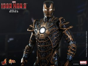 Hot Toys hottoys Bones (Mark XLI) Iron Man 3 1/6 Scale Action MMS251