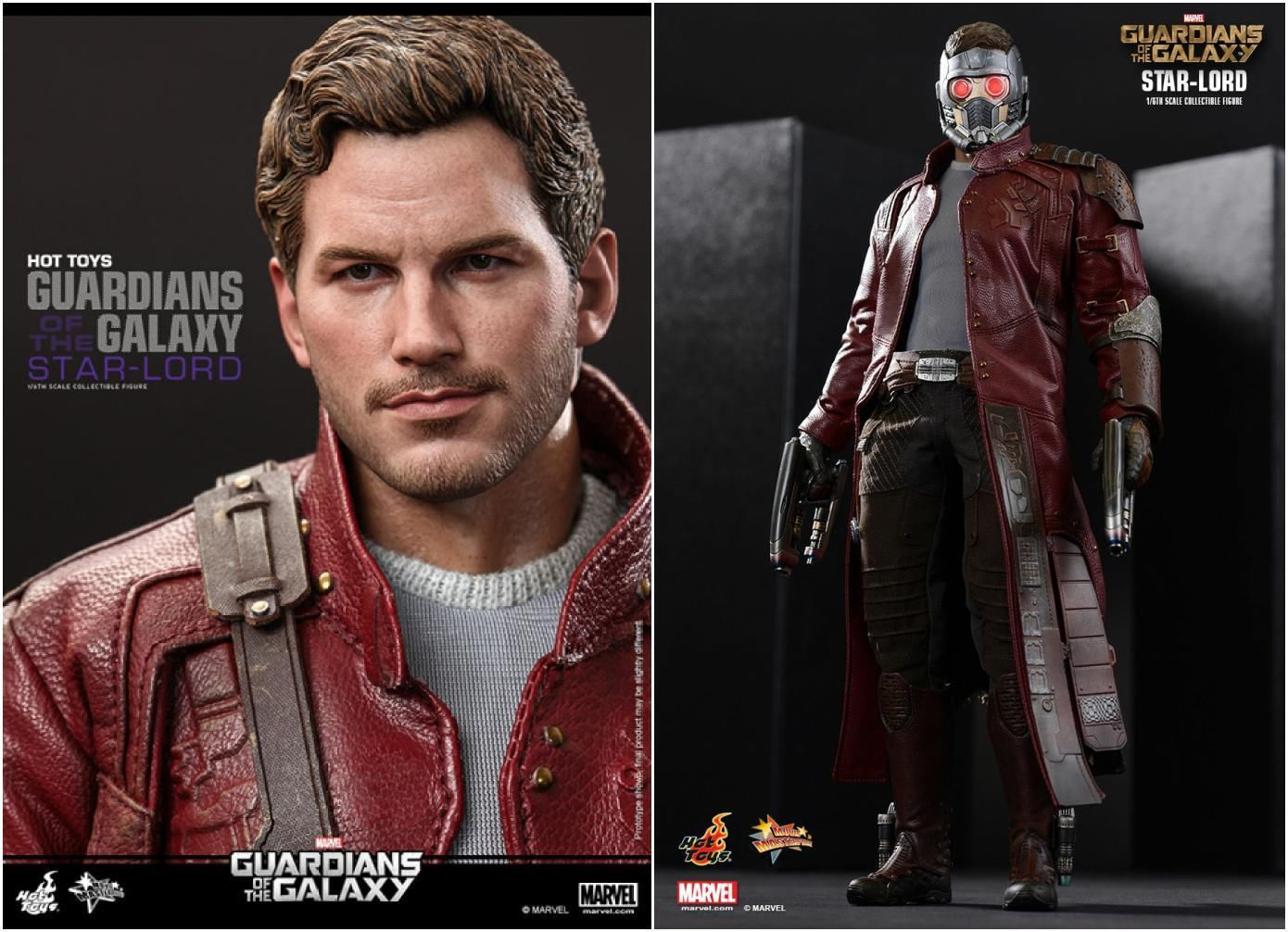 Hot Toys Guardians Of The Galaxy Star Lord 1 6 Mms255