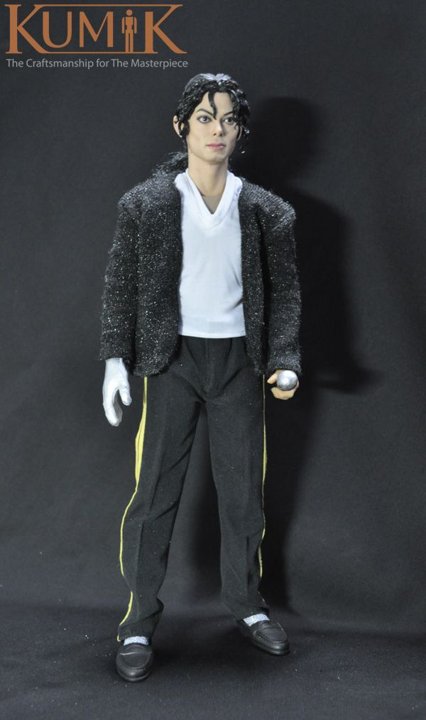 1 6 kumik 12 action figure model male star michael joseph for Three jackson toy