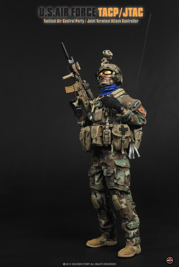 soldier story ss075 us air force tacp jtac 16 figure