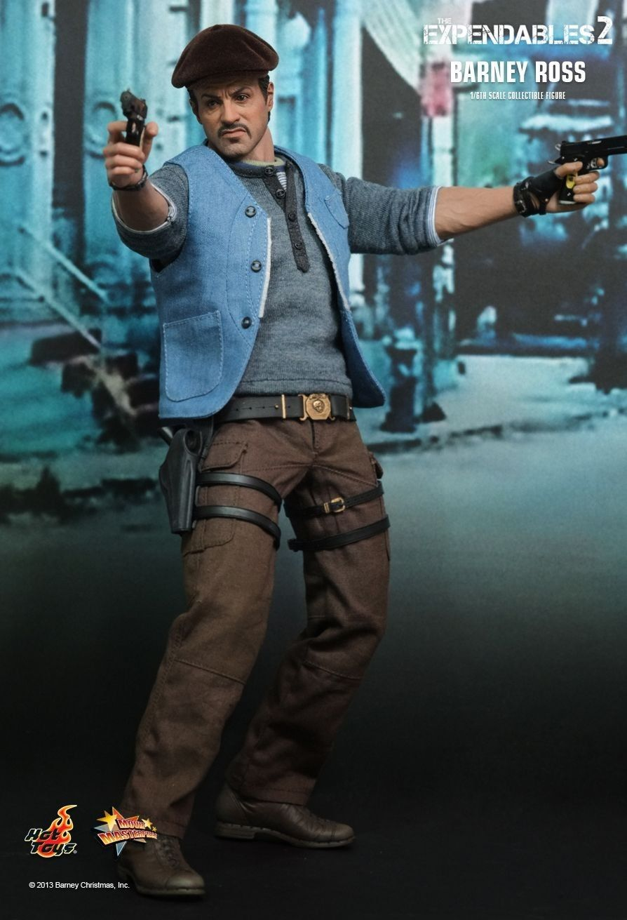 HOT TOYS MMS194 The Expendables 2 Barney Ross Sylvester ...