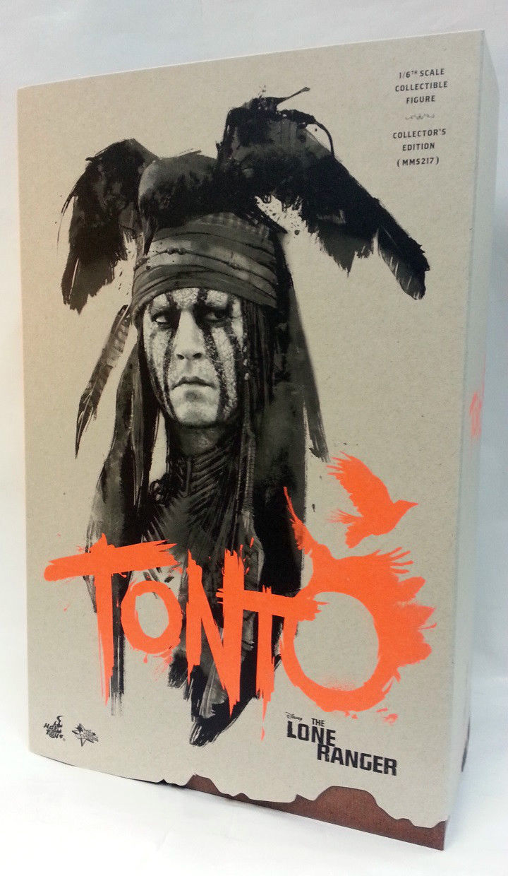 Hot Toys MMS217 The Lone Ranger Tonto Johnny Depp 1//6 Figure In Stock