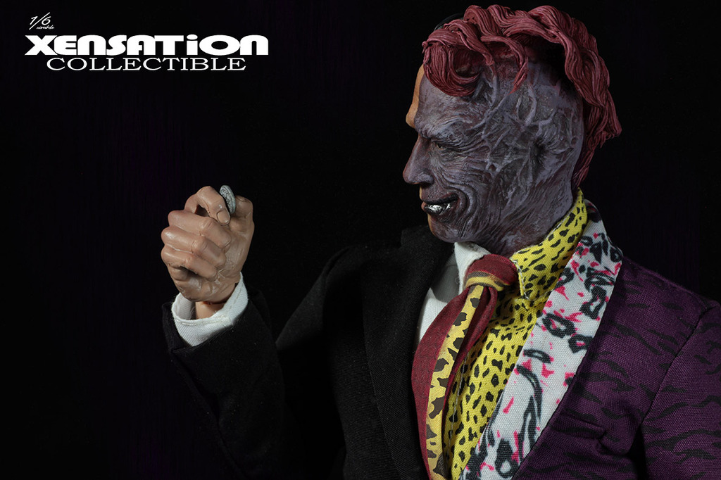 xensation collectible batman double face 16 figure