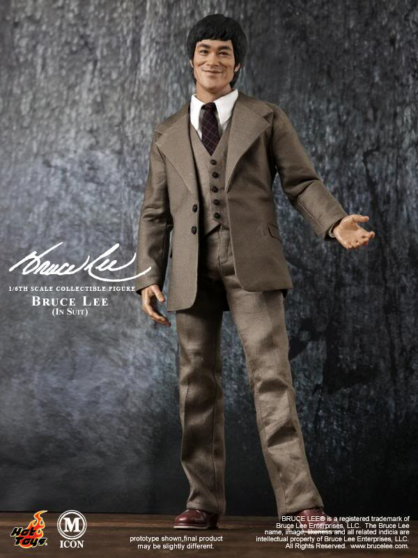 9687f58558c HOT TOYS Bruce Lee 12 Figure (In Suit) IN STOCK   3a16.com